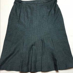 Boden Skirts - Boden Wool Blend Herringbone Skirt 12r